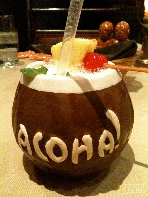 Chi chi (водка, кокосовое молоко, ананасовый сок) — 190гр, 69 грн