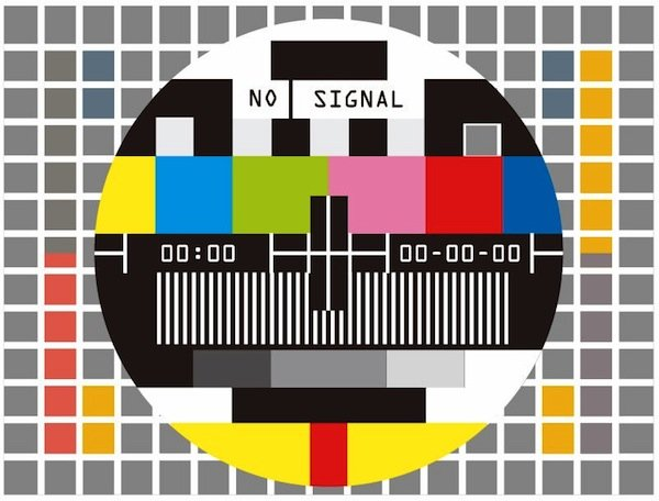 Television-Test-Screen-No-Signal-Vector-Illustration