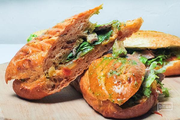 Френдибургер овощной — 45 грн