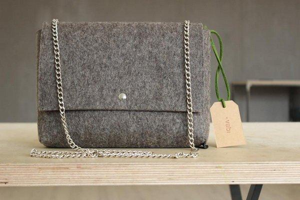 f50488644238 Vabi – молодая украинская марка ярких сумок, клатчей и чехлов из  натуральной валяной овечьей шерсти. Цены на сумки – от 400 грн.