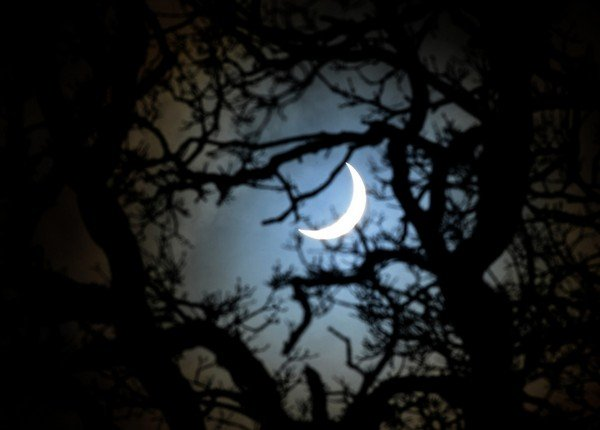 Solar Eclipse, Yorkshire, Britain - 20 Mar 2015