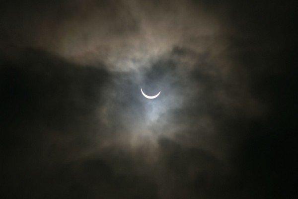 Solar Eclipse, Oldham, Britain - 20 Mar 2015