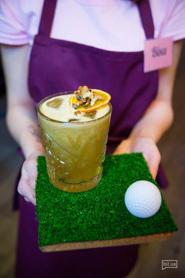 Rabbilt -  вишневый виски, яблочный фреш, лимон, биттер - 89грн