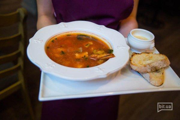Мясной томатный суп - 400 гр, 58 грн