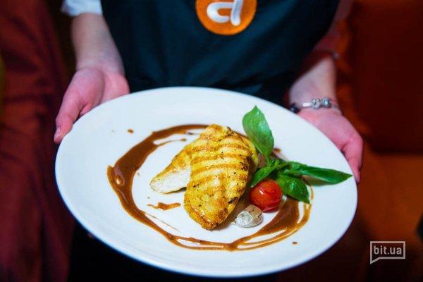Куриное филе на гриле с соусом Капуччино - 180 гр, 74 грн