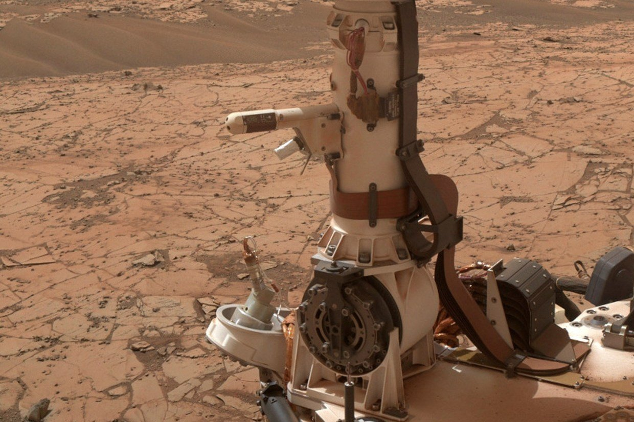curiosity mars liquid water
