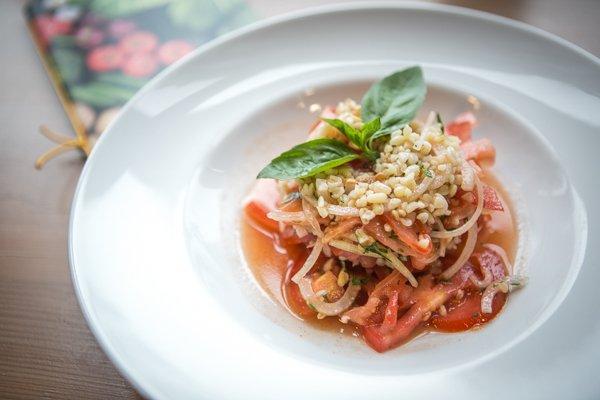 Салат с булгуром, томатами и специями - 79 грн