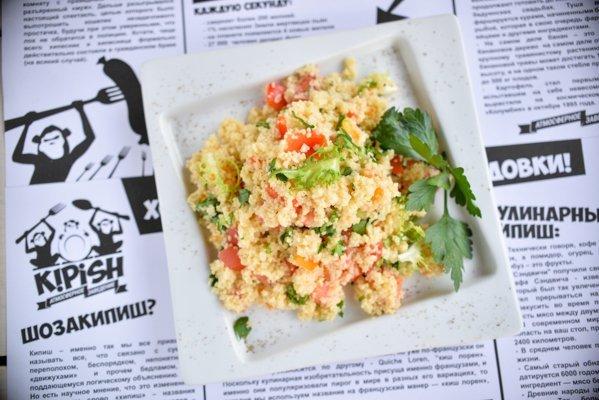 Теплый салат Табуле - 76 грн