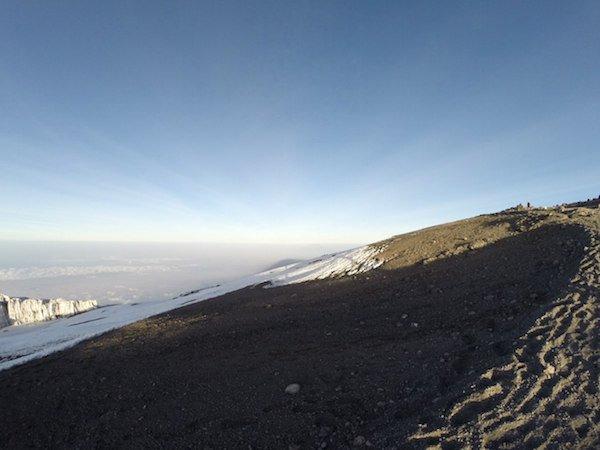 КИлиманджаро. Ледник