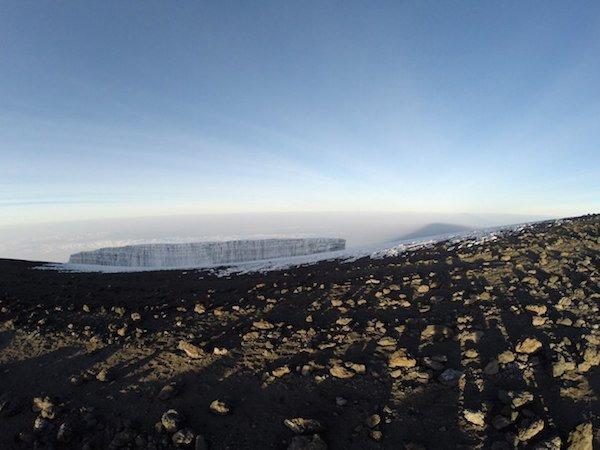 Килиманджаро. Ледник 1