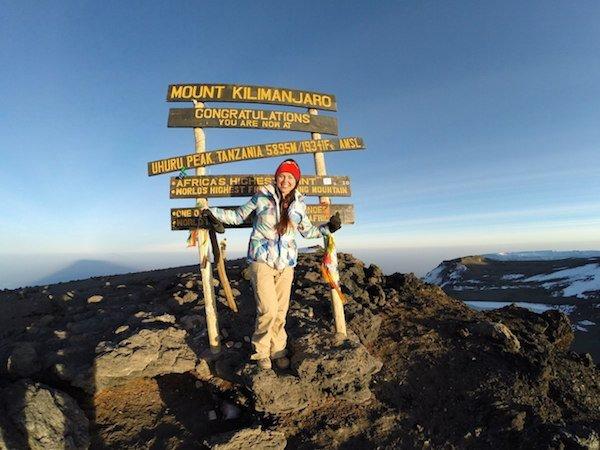 Килиманджаро. Вершина