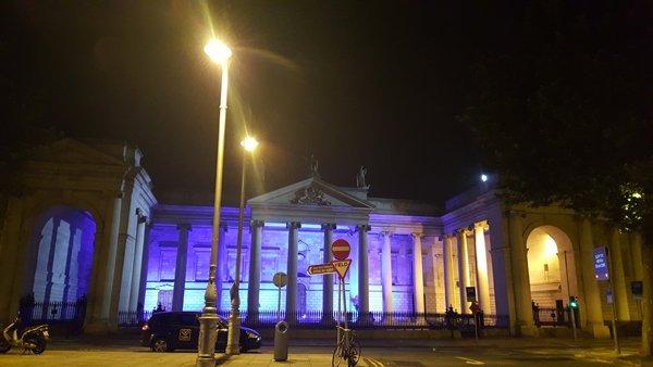 ночной Дублин