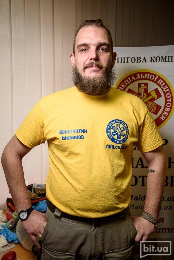 Константин Бирюков - инструктор с 5-летним стажем и опытом работы в выездной бригаде Станции Экстренной медицинской помощи