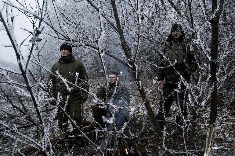 Shelling in Artemivsk, Ukraine