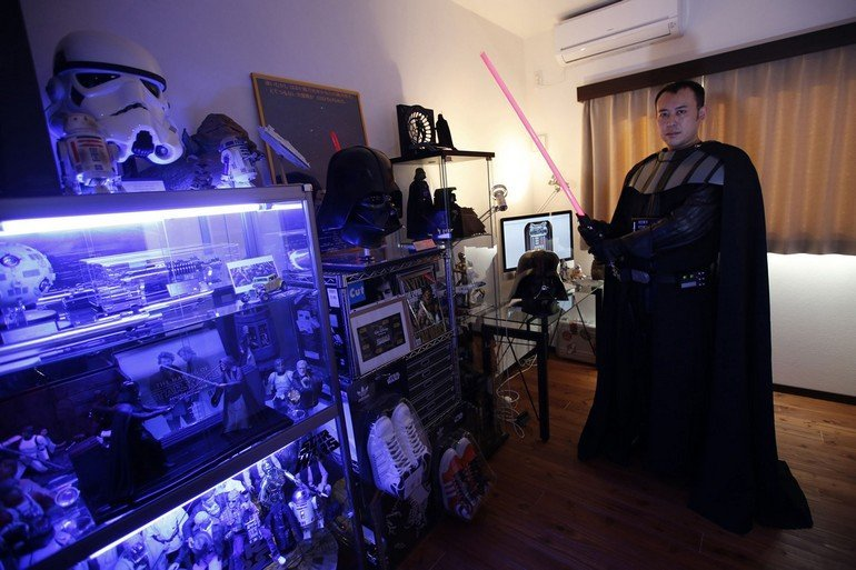 The Wider Image: May the Force be with you