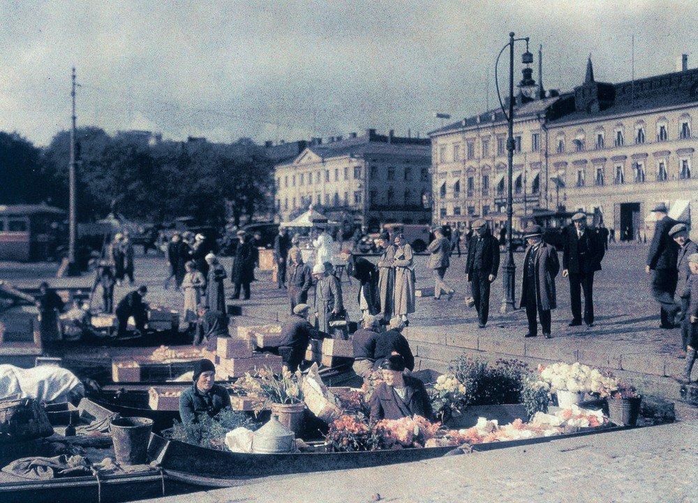 Quay market, c 1934.