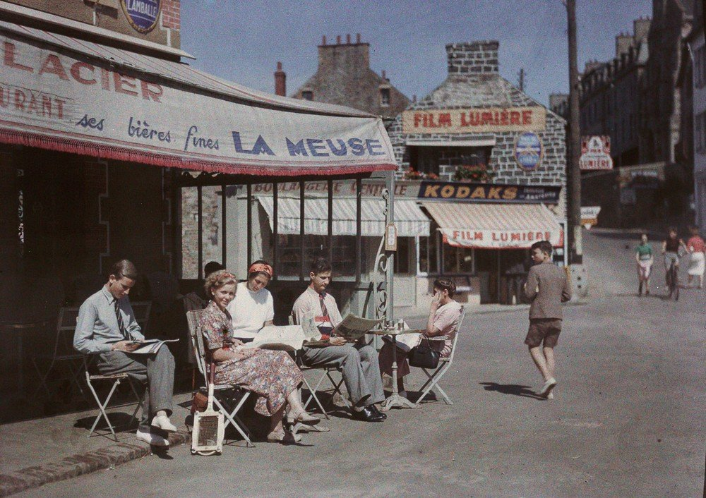 Le Val Andre, Brittany, 1938.