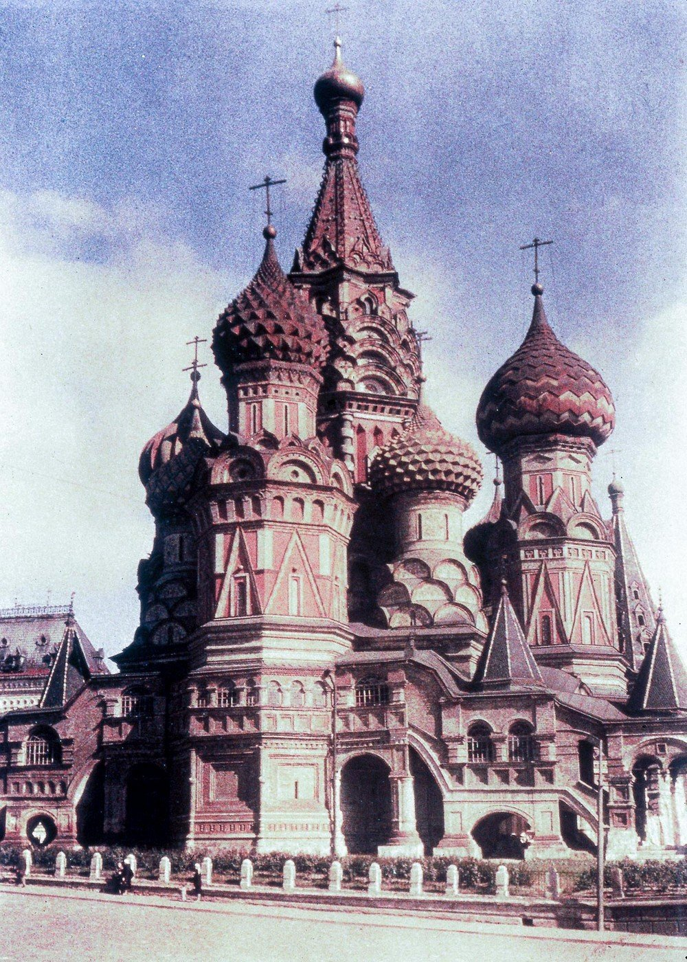 St. Basil?s Cathedral, Moscow, c.1920-1930.