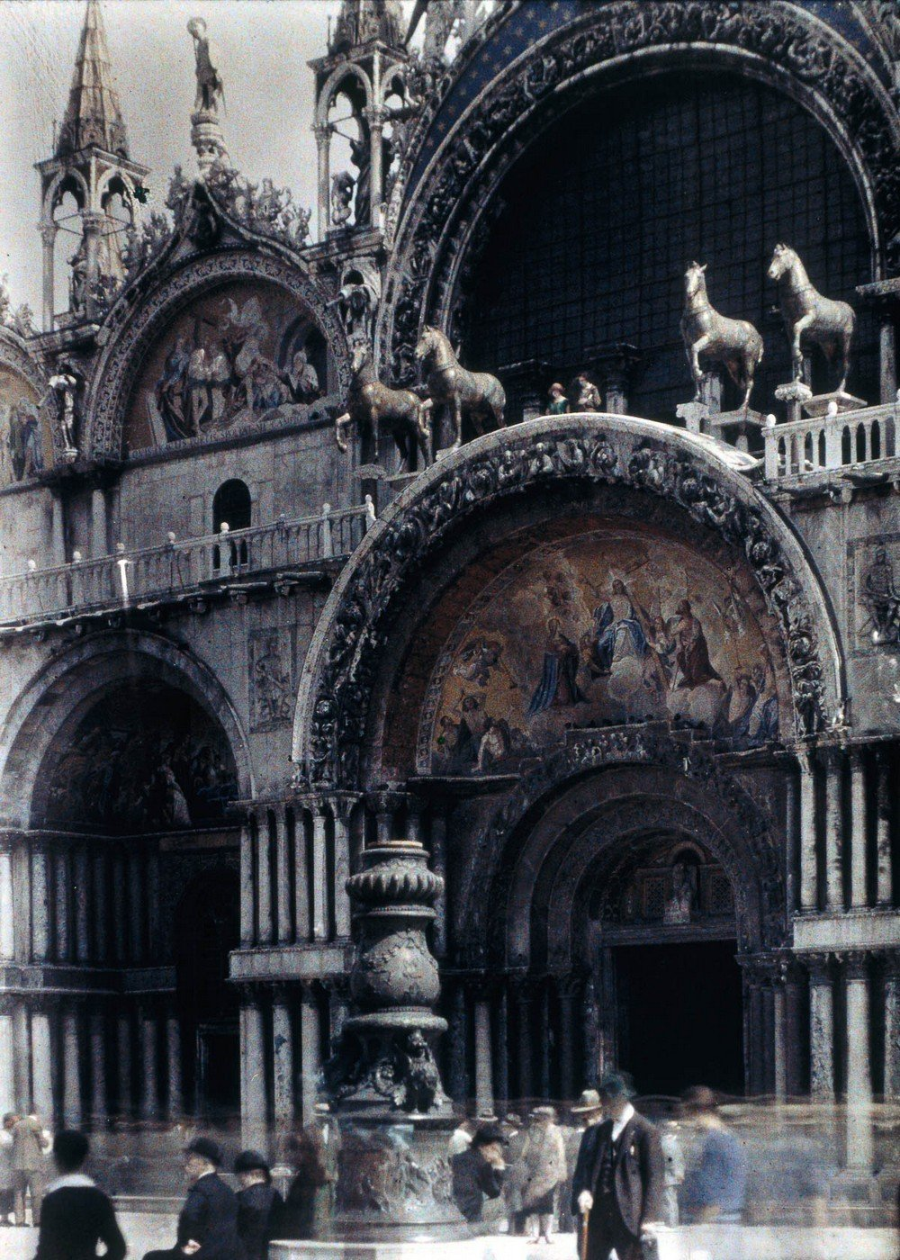 St Mark?s Cathedral, Venice, 1925.