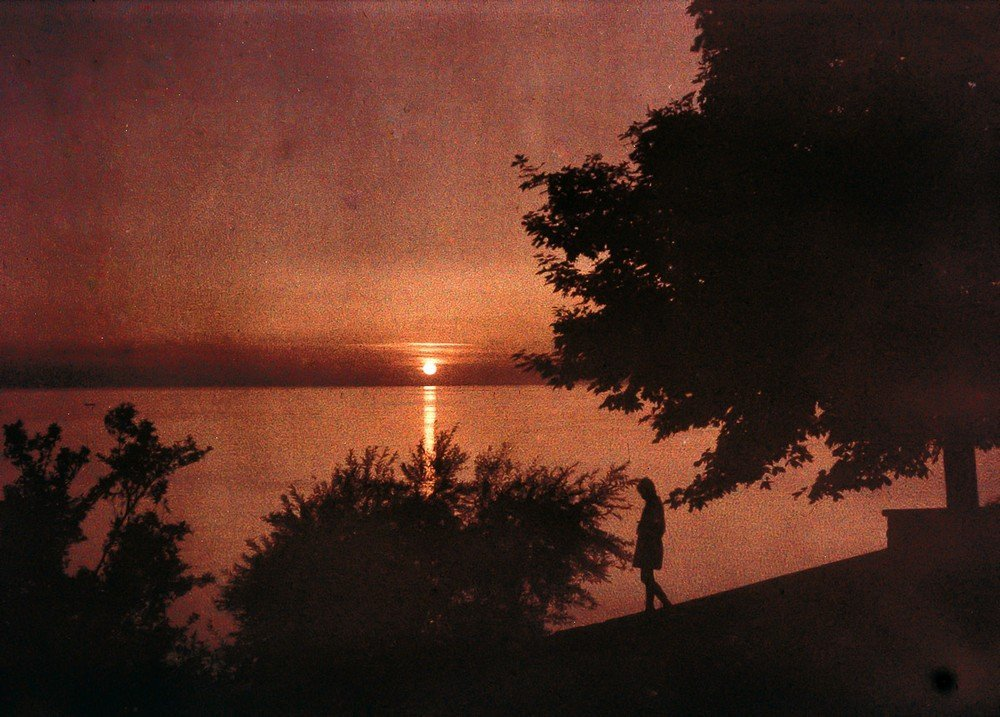 Sunset, c 1925.