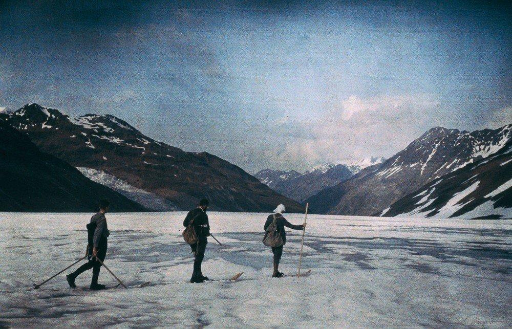 Otztal, Austria, 1912.