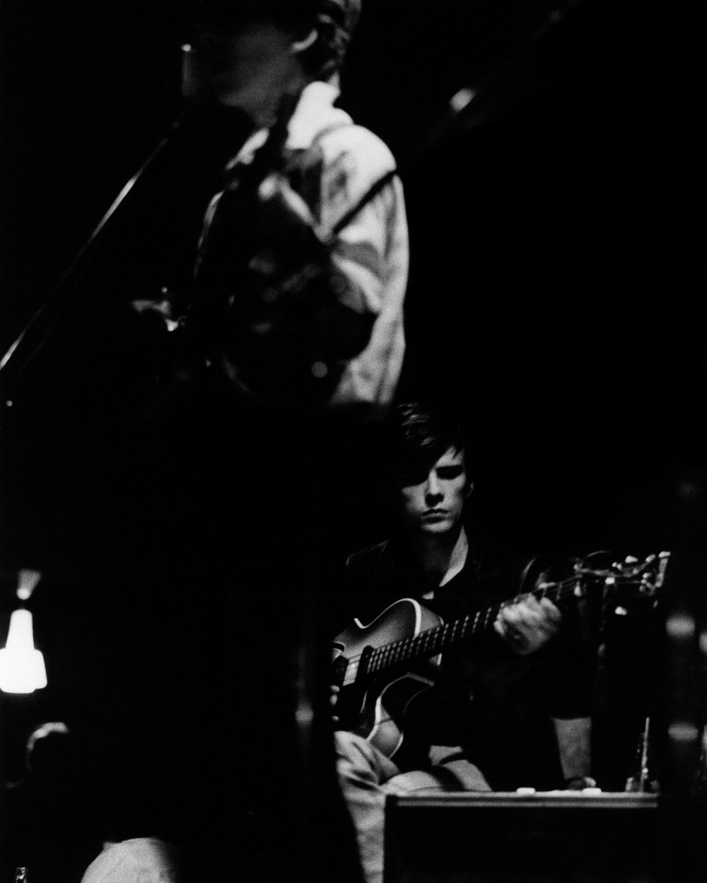 Photo of George HARRISON and BEATLES and Stuart SUTCLIFFE