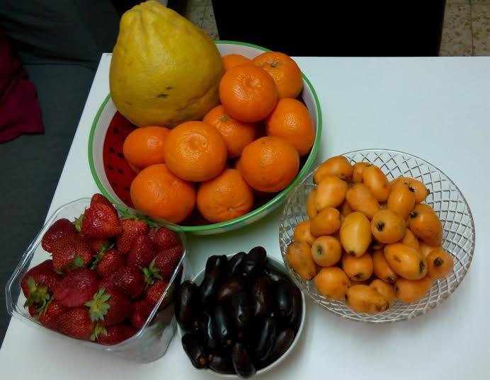 Экзотические ягоды израиль показать фото