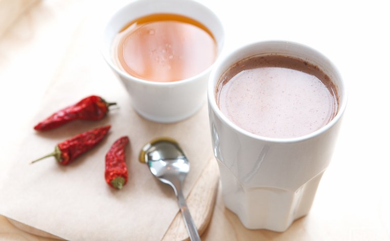 Какао с медом и перцем – 300/425 гр, 44/54грн
