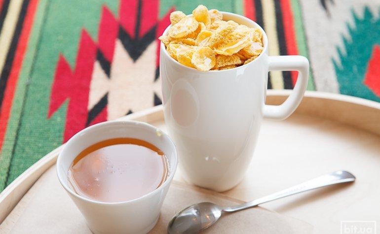 Какао с кукурузными лопьями и медом – 300/425 гр, 46/56грн