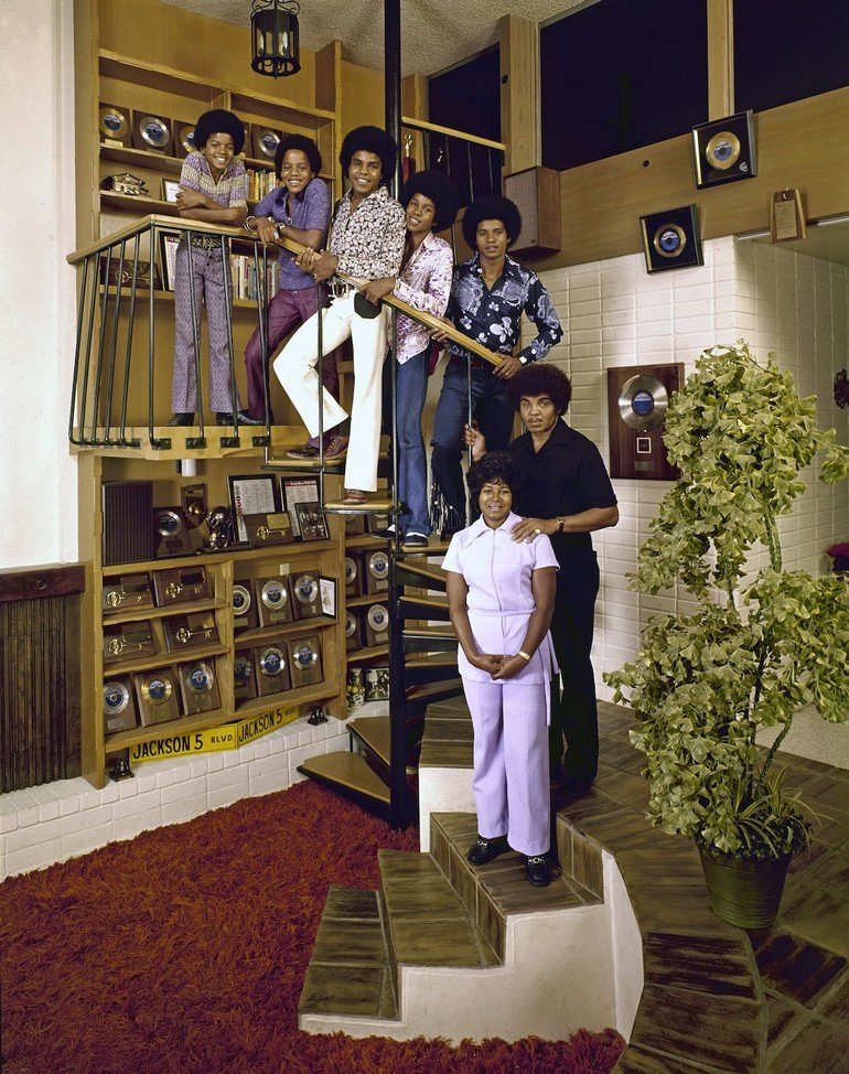 The Jackson Five & Their Parents