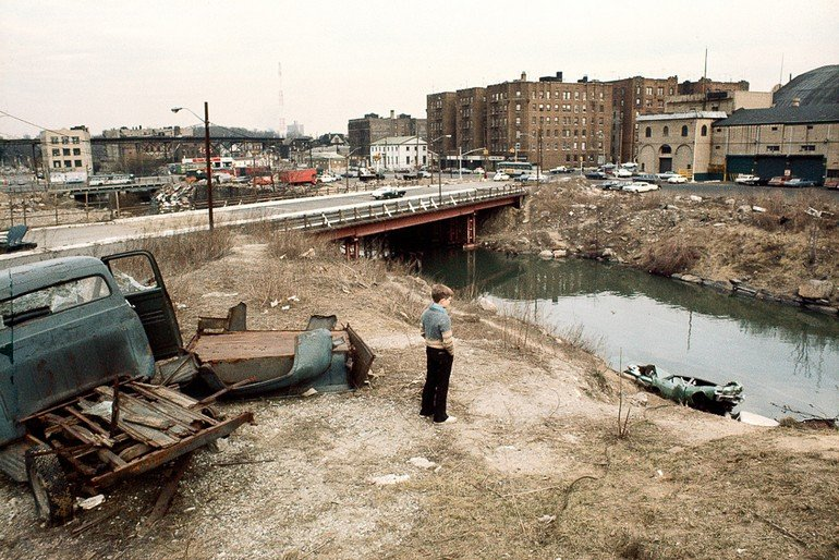Bronx River, Bronx, 1970