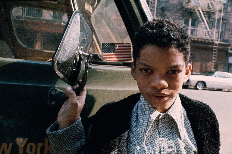 Boy, Morrisania, S. Bronx, 1970