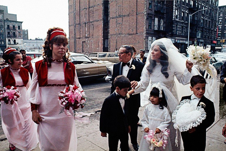 Puerto Rican Wedding, East Harlem, 1970
