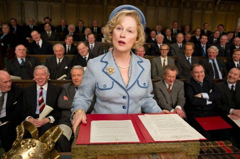 Margaret Thatcher (Meryl Streep) muss im Parlament Ÿberzeugen © 2011 Concorde Filmverleih GmbH