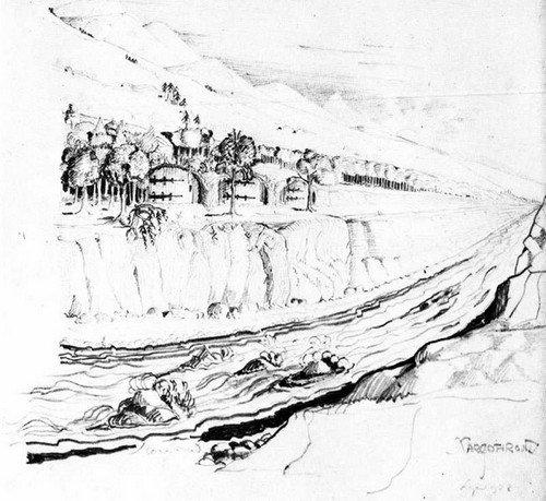 653px-J.R.R._Tolkien_-_Nargothrond_(II)
