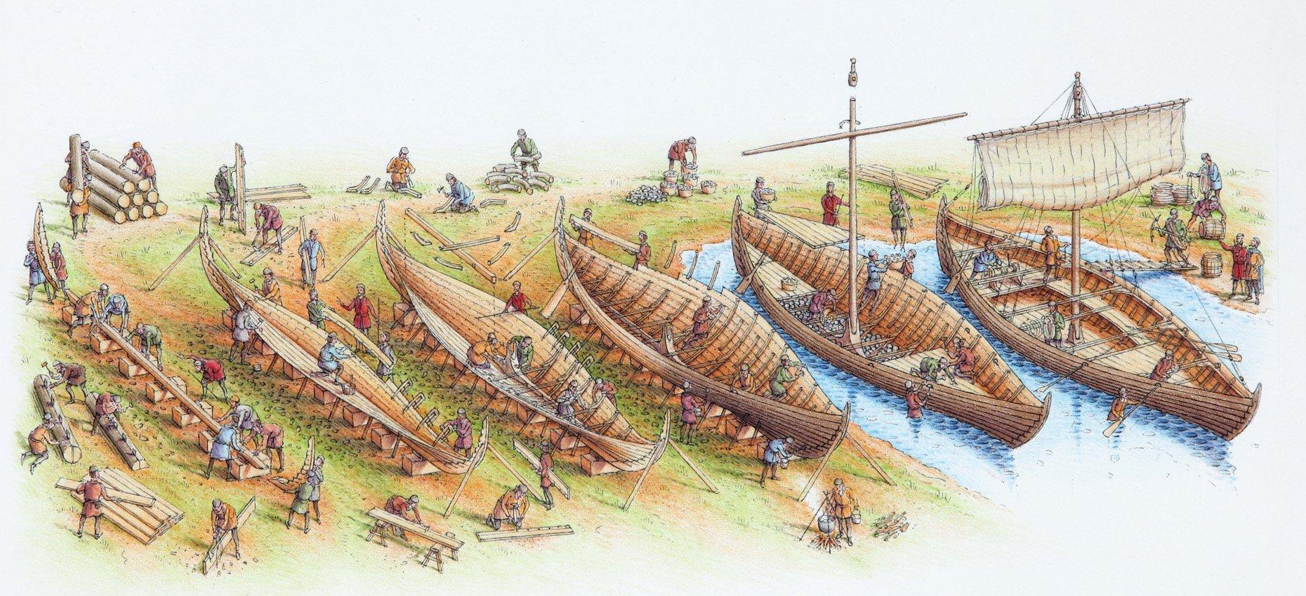 Building-Viking-Ship