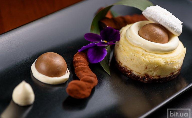 Кокосовый чизкейк с шоколадом — 145 грн