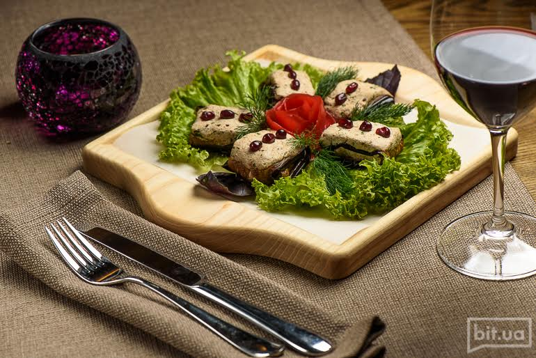 Жаренные баклажаны – 250 грн