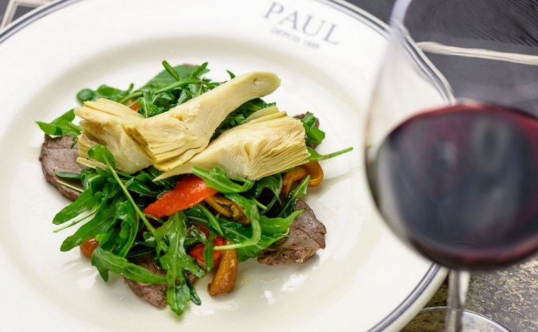 Салат с телятиной и артишоком, 265 грн