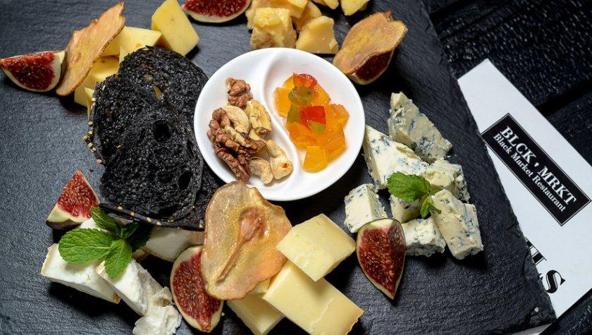 Ассорти сыров с мостарда – 285 грн