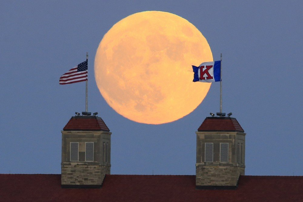 Supermoon Kansas