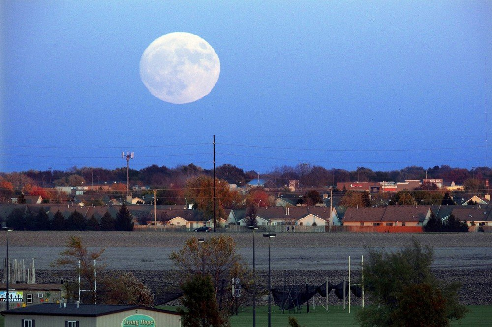 Supermoon Illinois