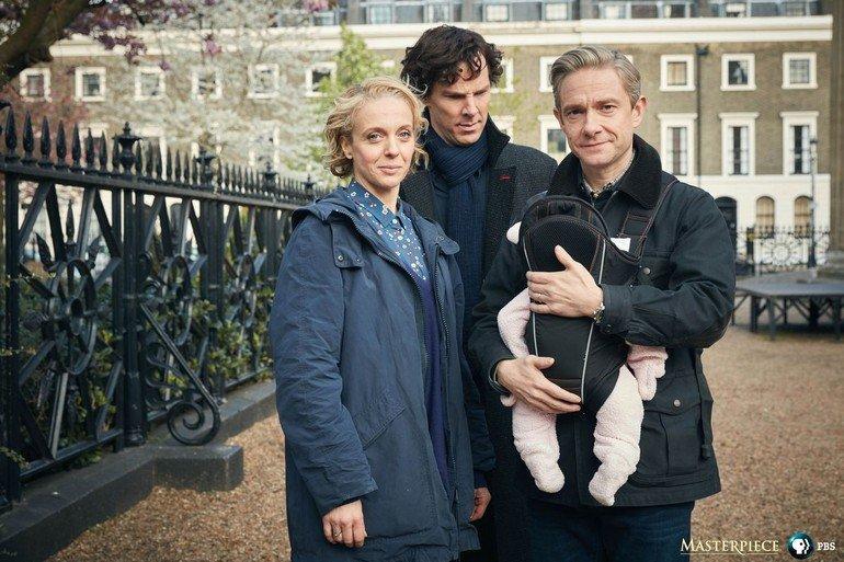 Размещены новые промо-кадры четвертого сезона «Шерлока»