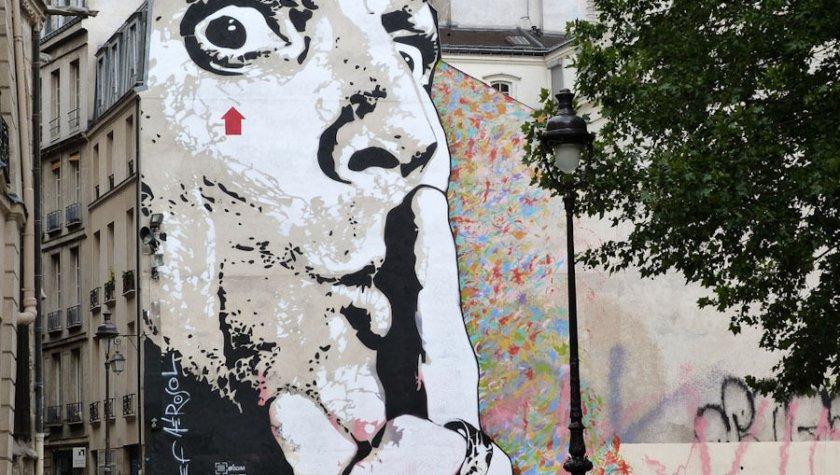 ладонь стрит арт в москве краткое описание сюжета: