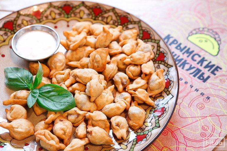 Чучвара с телятиной жареная - 89 грн