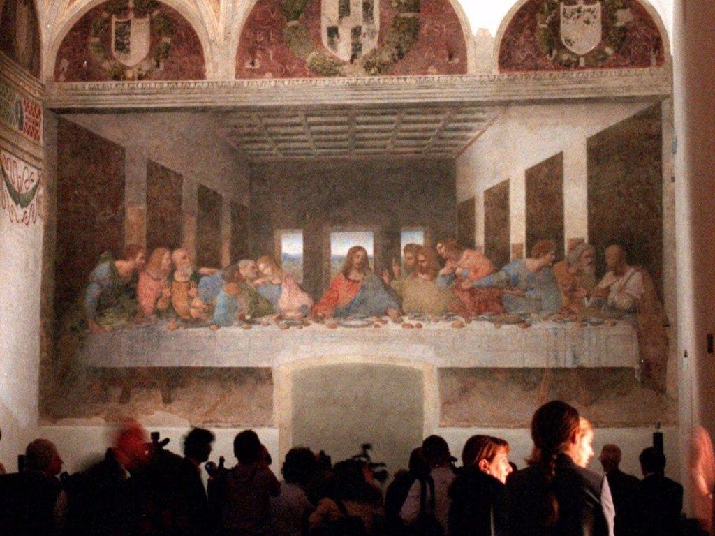 the last supper by leonardo davinci
