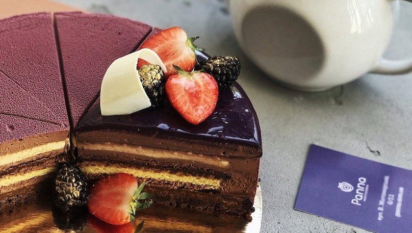 Торт «Брауни Экзотик» на заказ, 800 грн (1400г)