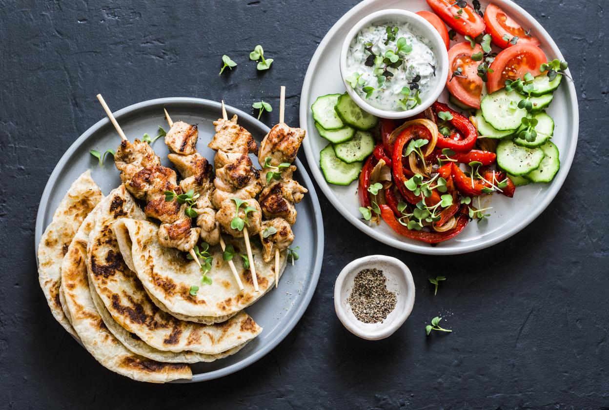 їжа в Греції