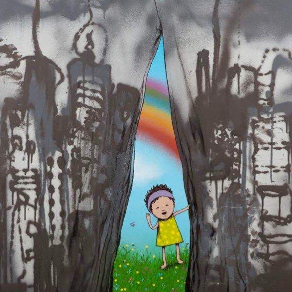 художник, граффити, banksy, dran,