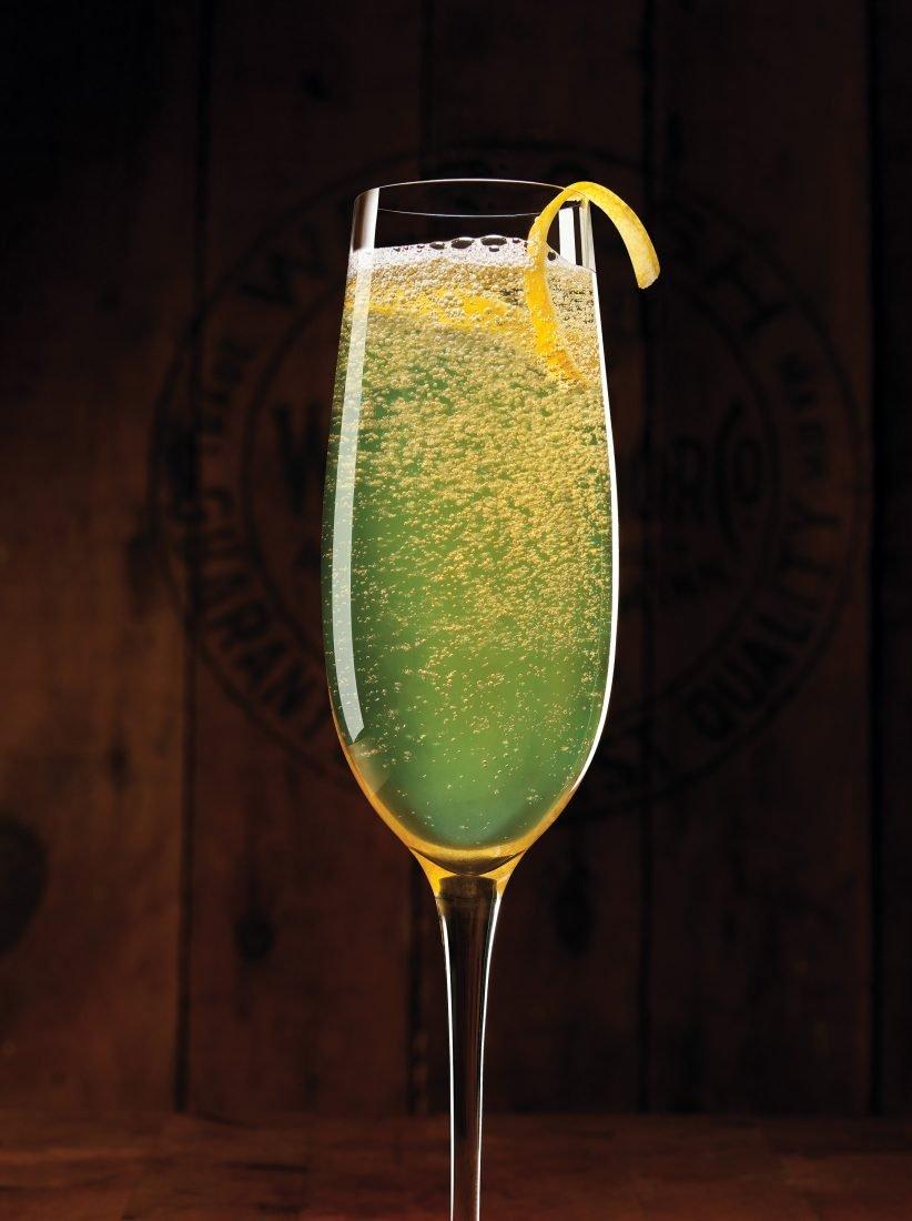 коктейль казино шампанское абсент